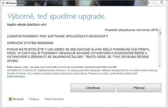 update na Windows 10 step 2