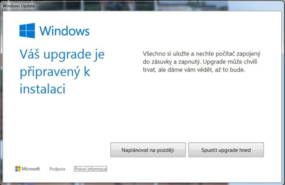 update na Windows 10 step 3