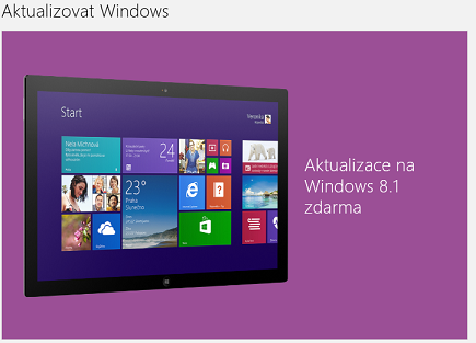 aktualizace windows 8.1